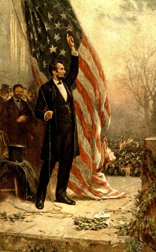 Image result for lincoln elected president in 1860